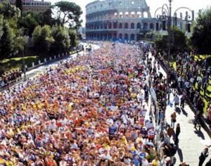 Rome-Marathon,-Lazio,-Italy