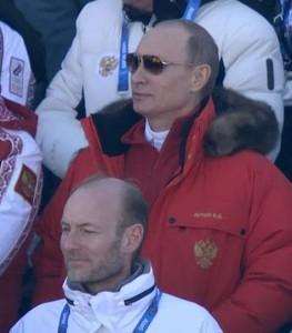 Putin kommer ikke på kulturvernkonferansen. Men det gjør jeg og Knut Olav Almås i den hvite jakka her..
