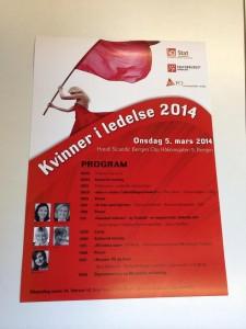 Kvinner i ledelsen 2014 i Bergen