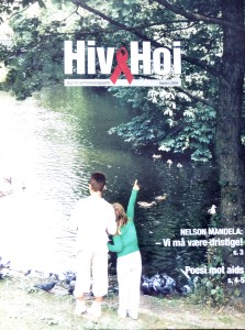 Bladet Hiv & Hoi ble utgitt med støtte fra LO og AOF(via Norad midler)