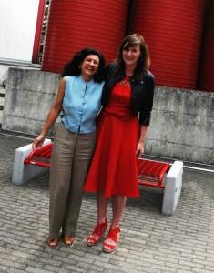 Professor Antonella Delle Fave har vært IPPA-president. Jeg har besøkt henne i Milano!