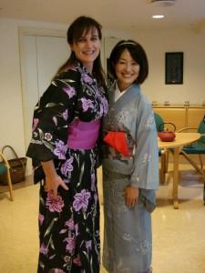 Jeg og venninne Manami Ozaki